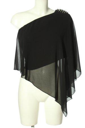Zara Trafaluc Schlupf-Bluse schwarz Elegant