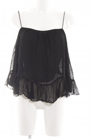 Zara Trafaluc Slip-over blouse zwart casual uitstraling