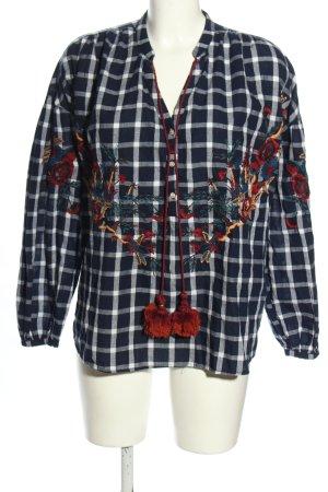 Zara Trafaluc Schlupf-Bluse Blumenmuster Casual-Look