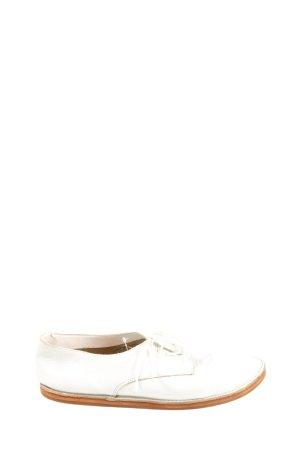 Zara Trafaluc Zapatos brogue blanco look casual