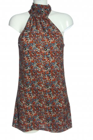 Zara Trafaluc Minikleid Allover-Druck Casual-Look