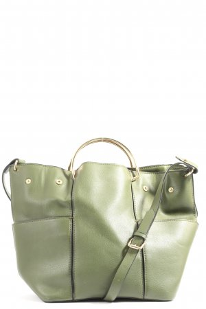 Zara Trafaluc Schultertasche grün Casual-Look