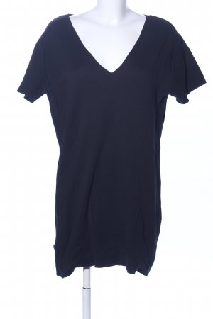 Zara Trafaluc Shirtkleid blau Casual-Look