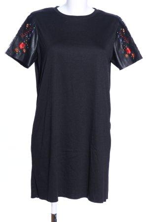 Zara Trafaluc Vestido estilo camisa estampado floral look casual