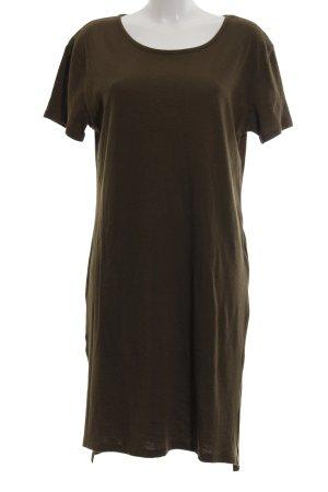 Zara Trafaluc Shirtkleid bronzefarben Casual-Look