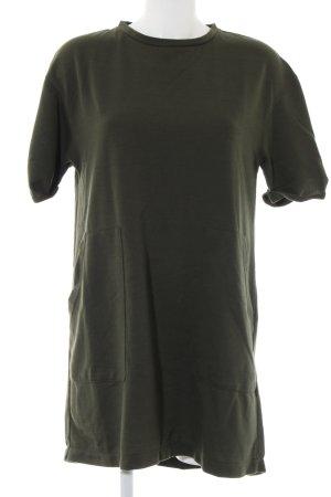 Zara Trafaluc Shirtkleid khaki Casual-Look