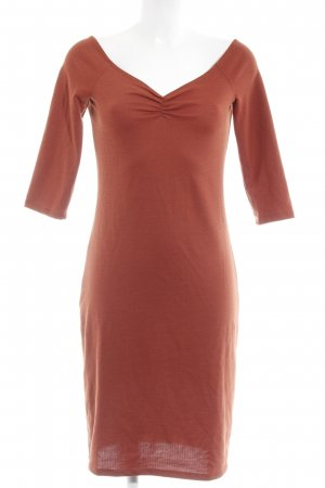 Zara Trafaluc Shirtkleid rostrot Casual-Look