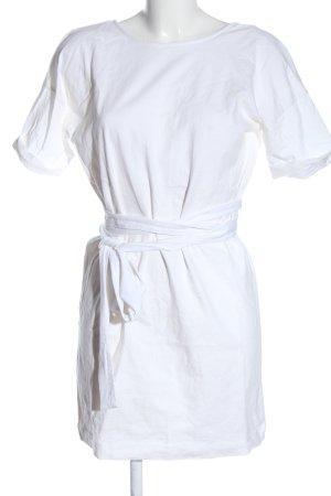 Zara Trafaluc Chemisier bianco stile casual