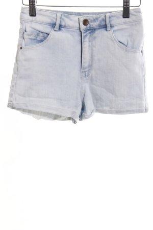 Zara Trafaluc Shorts hellgrau Casual-Look