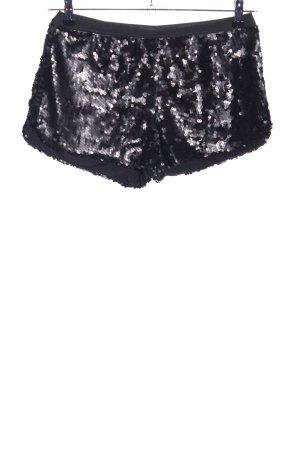Zara Trafaluc Shorts schwarz extravaganter Stil