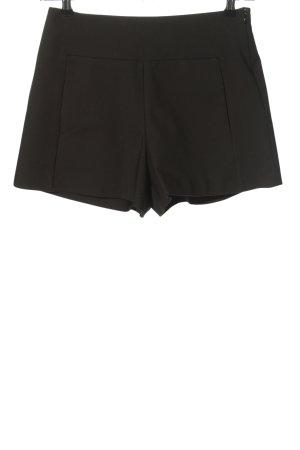 Zara Trafaluc Shorts schwarz Casual-Look