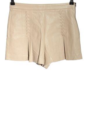 Zara Trafaluc Shorts wollweiß Casual-Look