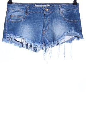 Zara Trafaluc Shorts blu stile casual