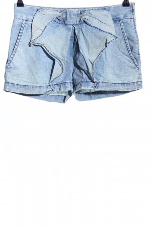 Zara Trafaluc Shorts blau Casual-Look