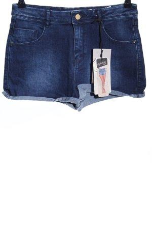 Zara Trafaluc Shorts blau Casual-Look