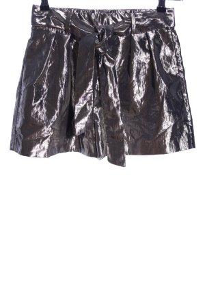 Zara Trafaluc Shorts bronzefarben extravaganter Stil