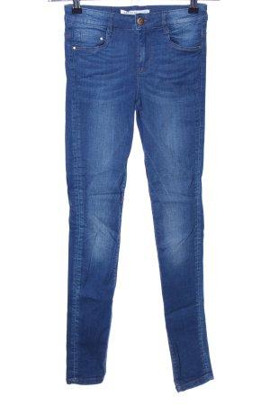 Zara Trafaluc Skinny Jeans blau Casual-Look