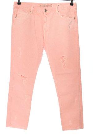 Zara Trafaluc Skinny Jeans pink Casual-Look