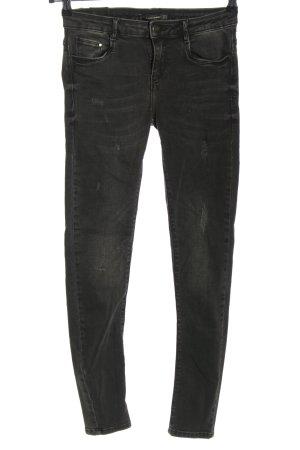 Zara Trafaluc Jeans skinny noir style décontracté