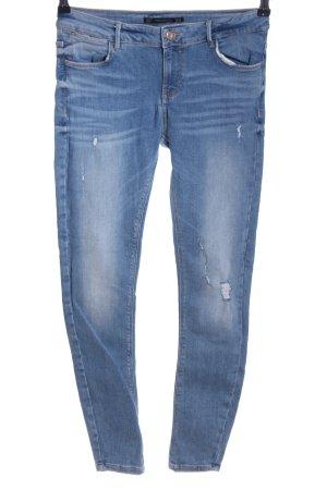 Zara Trafaluc Jeans skinny bleu style décontracté