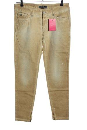 Zara Trafaluc Skinny Jeans braun Casual-Look