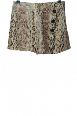 Zara Trafaluc Skorts brown leopard pattern elegant