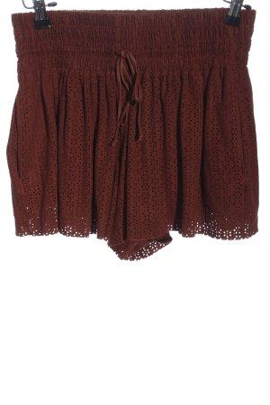 Zara Trafaluc Skort brun style décontracté