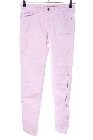 Zara Trafaluc Slim Jeans pink Casual-Look