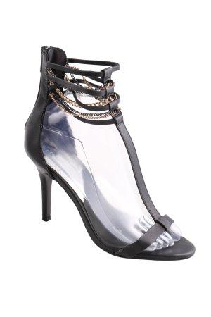 Zara Trafaluc Slingback-Pumps schwarz Elegant