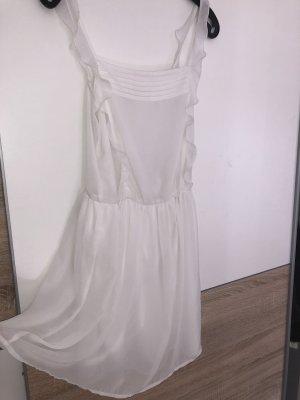 Zara Trafaluc Sommerkleid Weiß Größe S 36 Blogger