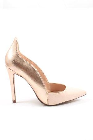 Zara Trafaluc Spitz-Pumps pink Elegant