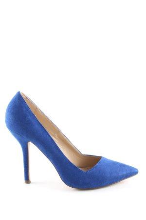 Zara Trafaluc Spitz-Pumps blau Casual-Look