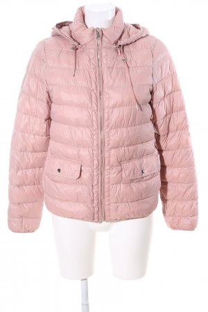 Zara Trafaluc Steppjacke pink Steppmuster Casual-Look