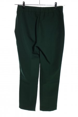 Zara Trafaluc Stoffhose grün Business-Look