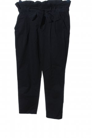 Zara Trafaluc Stoffhose blau Business-Look