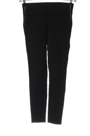 Zara Trafaluc Pantalon en jersey noir style décontracté