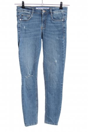 Zara Trafaluc Stretch Jeans blue casual look