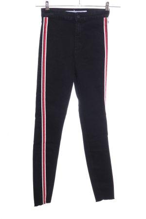 Zara Trafaluc Stretch Jeans Streifenmuster Casual-Look