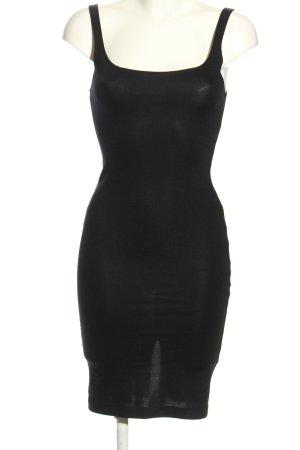 Zara Trafaluc Stretchkleid schwarz Casual-Look