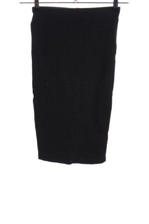 Zara Trafaluc Spódnica ze stretchu czarny W stylu biznesowym