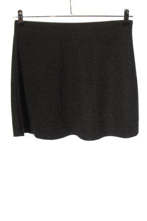 Zara Trafaluc Spódnica ze stretchu czarny-jasnoszary Melanżowy W stylu casual