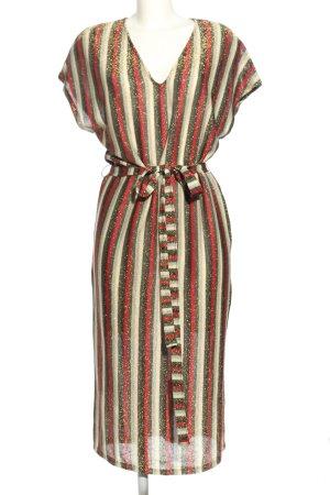 Zara Trafaluc Abito di maglia motivo a righe stile casual