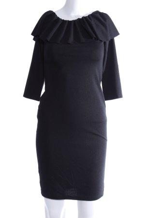 Zara Trafaluc Strickkleid blau Casual-Look