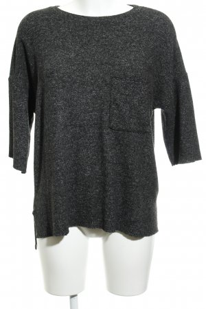 Zara Trafaluc Strickpullover anthrazit Casual-Look