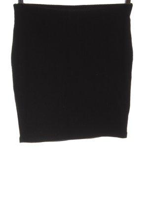 Zara Trafaluc Gonna lavorata a maglia nero stile casual