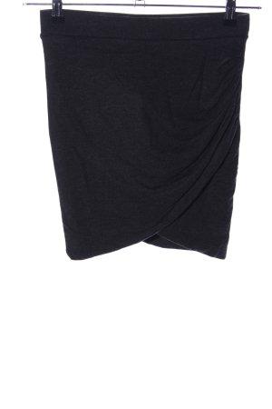 Zara Trafaluc Jupe tricotée noir moucheté style décontracté