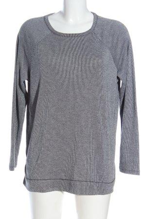 Zara Trafaluc Strickshirt weiß-schwarz Streifenmuster Casual-Look