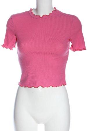 Zara Trafaluc Strickshirt pink Casual-Look