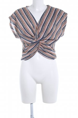Zara Trafaluc Knitted Top allover print casual look