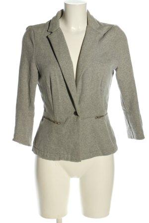 Zara Trafaluc Sweatblazer hellgrau meliert Business-Look